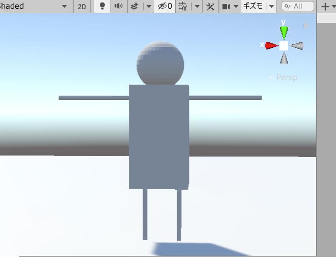 blender ボーン humanoid unity
